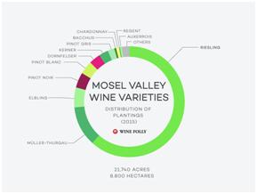 Mosel Valley Wine Varieties