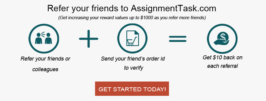 Assignment Task- Referral Program Benefits