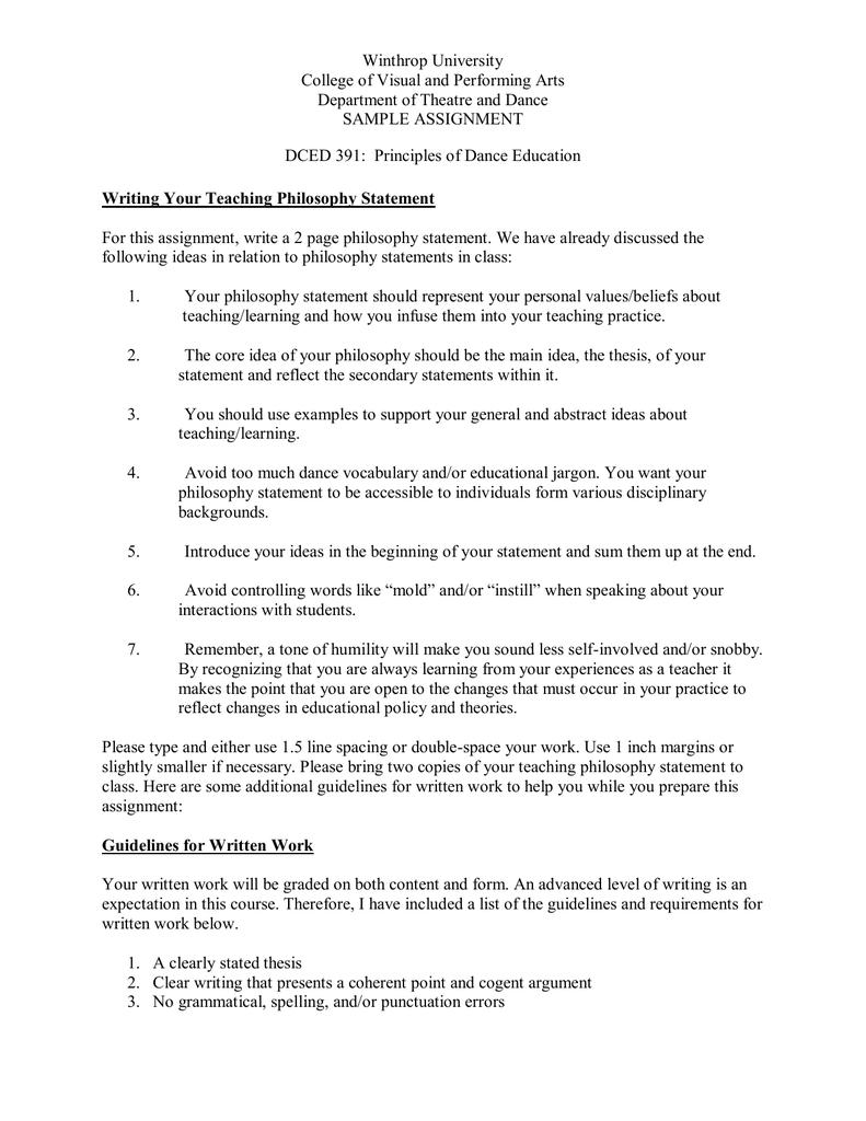 Academic Resources Samples