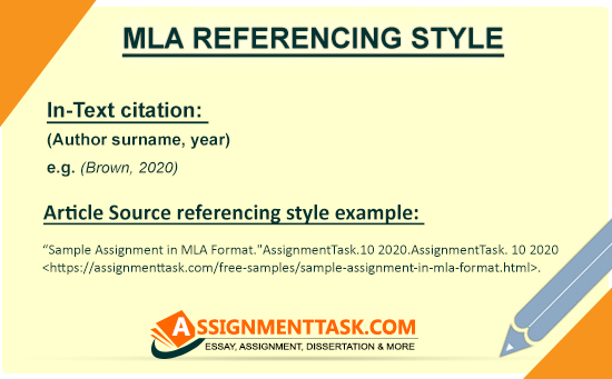 MLA Referencing Style